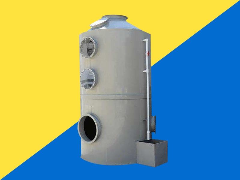 VOC廢氣處理之噴淋塔