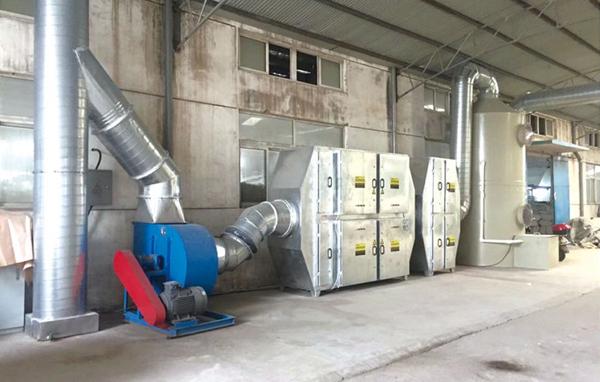 江蘇淮安印刷包裝廢氣治理工程